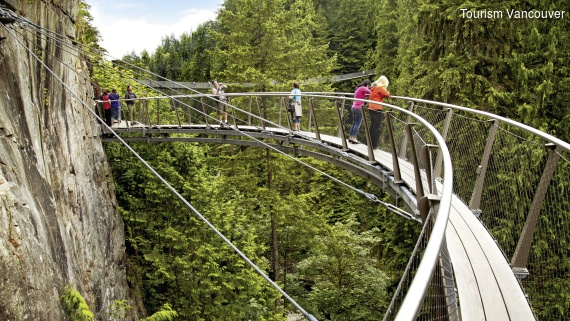 Vancouver, Capilano Suspension Bridge