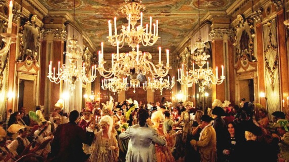 Venetian Palace during Carnival ball